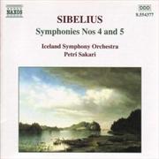Sibelius:Symphonies Nos.4 & 5
