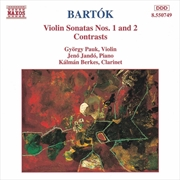 Bartok Violin Sonatas No 1 & 2 | CD