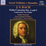 JS Bach: Violin Concertos Nos 1 & 2 | CD