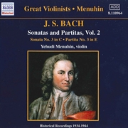 Bach:Sonatas/Partitas Vol