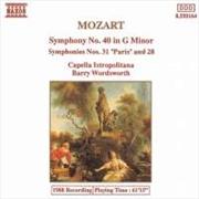 Mozart:Symphonies Nos.28,31,40   CD