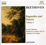 Beethoven: Bagatelles & Dances | CD