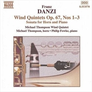 Wind Quintets Op 67 1-3 | CD
