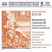 Bach Harpsichord Concertos 111