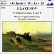 Glazunov:Symphonies Nos.5 & 8 | CD