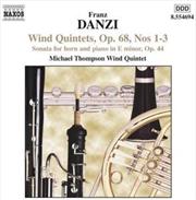 Danzi: Wind Quintets Vol 3
