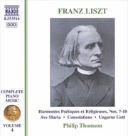 Liszt:Piano Music Volume 4
