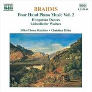 Brahms: 4 Hand Piano Music Vol 2 | CD