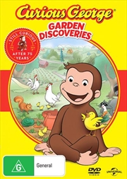 Curious George - Garden Discoveries | DVD