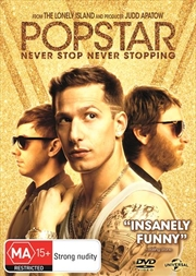 Popstar - Never Stop Never Stopping | DVD