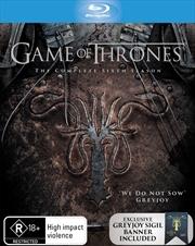 Game Of Thrones - Season 6 (EXCLUSIVE EDITION) | Blu-ray