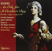 An Ode For St Cecilias Day | CD
