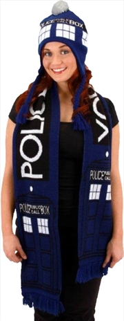 Doctor Who Tardis Scarf | Merchandise