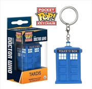 Doctor Who - TARDIS Pocket Pop! Keychain