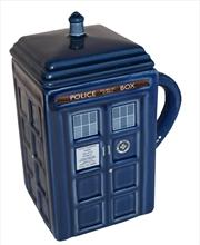 Doctor Who Tardis Mug With Lid