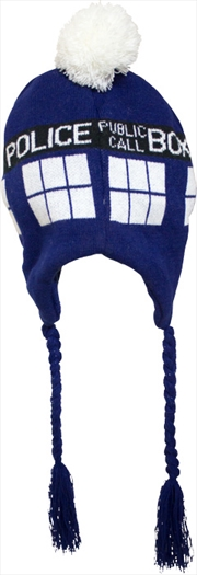 Doctor Who Tardis Laplander Hat | Merchandise