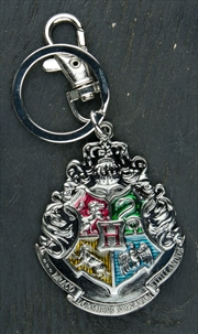 Harry Potter - Hogwarts Logo Metal Keychain