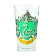 Slytherin Crest Glass