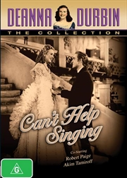 Deanna Durbin - Can't Help Singing