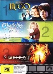 Hugo/Charlottes Web/Stardust