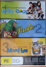 Hotel For Dogs/Paulie/Mouse Hunt
