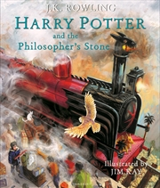 Harry Potter and the Philosopher's Stone: Illustrated Edition | Hardback Book