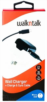 Wall Charge Sync: Micro Usb