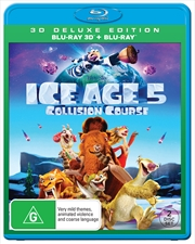 Ice Age - Collision Course | 3D + 2D Blu-ray