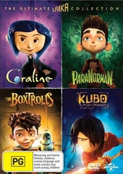 Coraline / Paranorman / The Boxtrolls / Kubo and the Two Strings