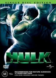 Hulk | DVD