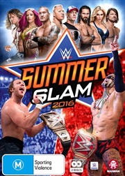 WWE - SummerSlam 2016 | DVD