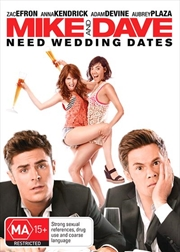 Mike and Dave Need Wedding Dates | DVD