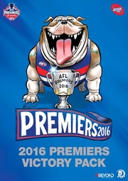 AFL - Premiers 2016 Western Bulldogs Victory Pack