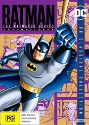 Batman - The Animated Series - Vol 3 | DVD