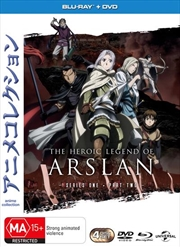 Heroic Legend Of Arslan - Season 1 - Part 2 | Blu-ray/DVD