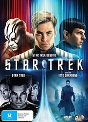 Star Trek / Star Trek - Into Darkness / Star Trek Beyond | DVD