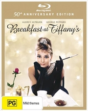 Breakfast At Tiffany's - 50th Anniversary Edition | Blu-ray