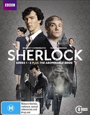 Sherlock / Sherlock Holmes - The Abominable Bride - Series 1-3 | Blu-ray