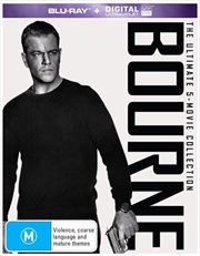 Bourne - Movie 1-5 | UV - Collection