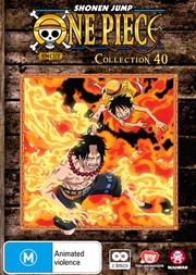 One Piece - Uncut - Collection 40 - Eps 481-491 | DVD