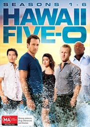 Hawaii 5-O - Season 1-6 | Boxset