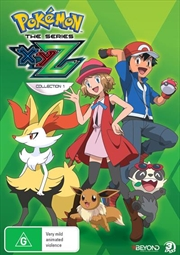 Pokemon The Series - XYZ - Collection 1 | DVD