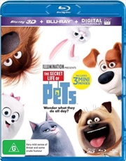 Secret Life Of Pets | 3D + 2D Blu-ray + UV, The