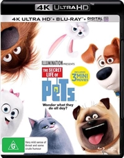 Secret Life Of Pets | Blu-ray + UHD + UV, The