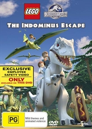 LEGO Jurassic World - The Indominus Escape | DVD
