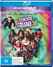 Suicide Squad | 3D + Blu-ray + UV