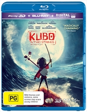 Kubo And The Two Strings | 3D + 2D Blu-ray + UV