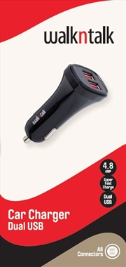Car Charger Dual 4.8a | Accessories