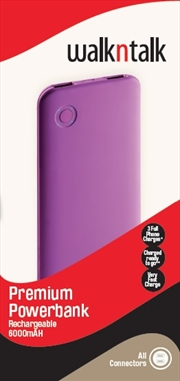 Power Pack Premium 6000: Purple
