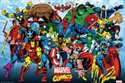 Marvel Comics Retro Running